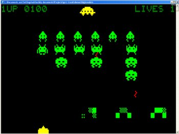 BigInvaders 1.1 in play